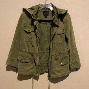 Forever 21 Olive Green Army Jacket